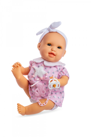 Bebelus fetita Risa handmade roz cu mecanism, colectia Susu, Berjuan luxury dolls [0]