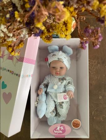 Papusa bebe baietel Azu, colectia Boutique, Berjuan handmade luxury dolls [2]