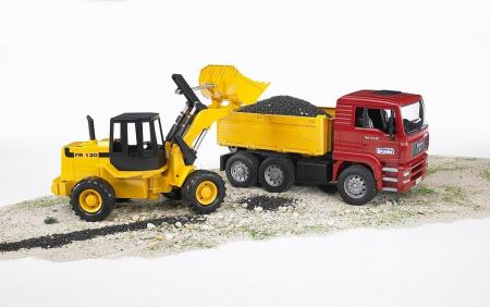 Camion cu buldoexcavator MAN TGA [2]