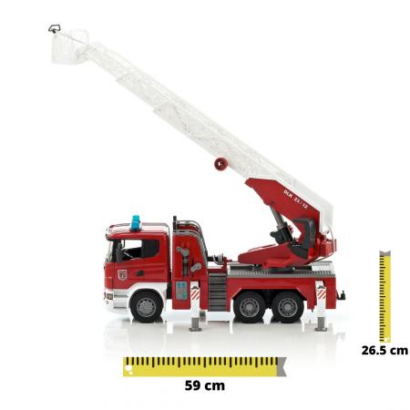 Masina de pompieri Scania cu pompa de apa, Bruder [0]