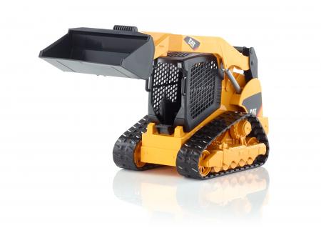 Jucarie Buldo Cat Multi terrain cu incarcator frontal - 25,5 x 11,5 x 13,2 cm0