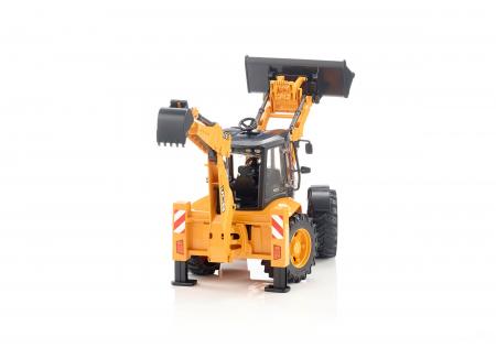 Jucarie Buldoexcavator JCB 5CX - 41.1 x 17.2 x 25 cm3
