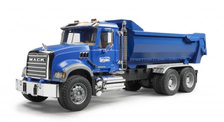 Jucarie Camion Basculanta Mack Granite - 61,5 x 18,8 x 20,8 cm0