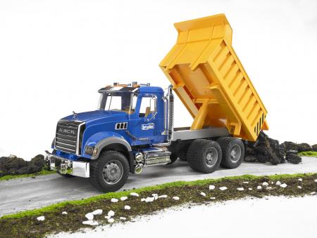 Jucarie Camion Basculanta Mack Granite - 53 x 18,5 x 22,5 cm2