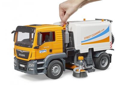 Jucarie camion curatare stradala MAN TGS -47.0 cm x 19 cm x 23 cm3