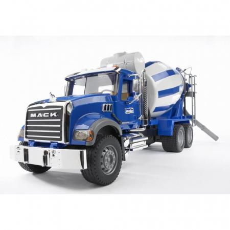 Camion Mack Granite betoniera - 66.5 x 18.5 x 27.5 cm0