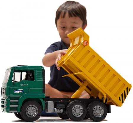 Jucarie Camion MAN TGA cu basculanta, Bruder [1]