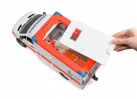 Jucarie Duba MB Sprinter ambulanta cu sofer - 45,5 x 17 x 22 cm4