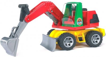 Jucarie  Roadmax 2+, Excavator cu cupa si lama -38.3 x 17 x 19.8 cm1