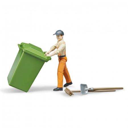 Jucarie figurina om de servicii, cu accesorii - aproximativ 11 cm1
