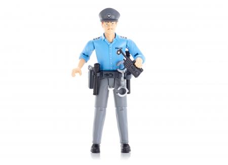 Figurina politist, cu accesorii - inaltime 10,7 cm0