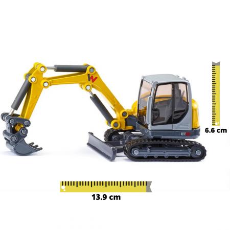 Jucarie macheta excavator Wacker Neuson ET65, Siku [0]