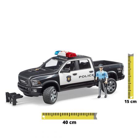 Jucărie mașina de politie cu modul de lumini și sunet [0]