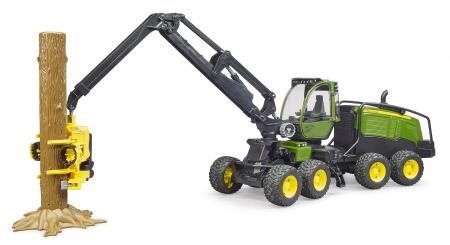 Jucarie tractor forestier John Deere 1270G - 50.0 x 17.0 x 23.0 cm0