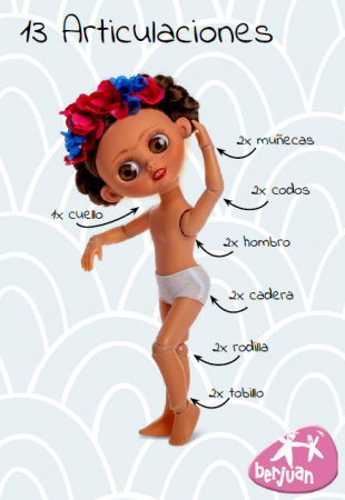 Papusa Michael editie Limitata Deluxe, colectia The Biggers, Berjuan, handmade luxury dolls [2]