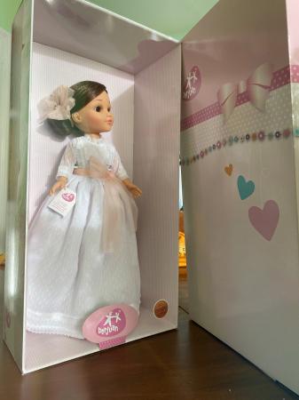 Papusa balerina Sofy Communion, colectia Sofy, Berjuan handmade luxury dolls [3]