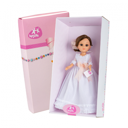 Papusa balerina Sofy Communion, colectia Sofy, Berjuan handmade luxury dolls [2]