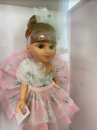 Papusa Eli balerina handmade, colectia Boutique - 43 cm2