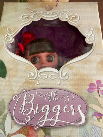 Papusa handmade Abba, colectia The Biggers - 32cm5