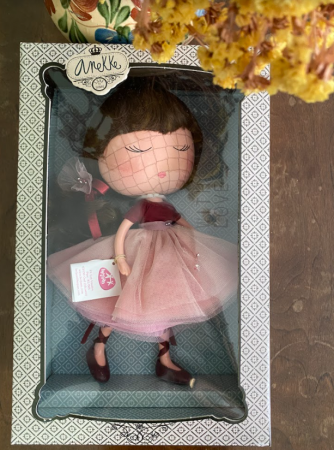 Papusa Anekke, colectia Ballerina, Berjuan handmade luxury dolls [2]