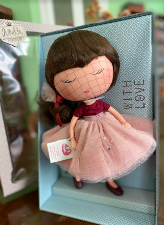 Papusa Anekke, colectia Ballerina, Berjuan handmade luxury dolls [1]