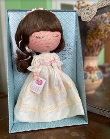 Papusa Anekke, colectia Communion, Berjuan handmade luxury dolls [3]