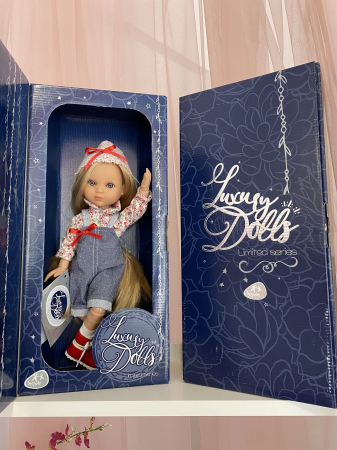 Papusa handmade Bonita Deluxe, Editie Limitata, colectia Eva, Berjuan luxury dolls [2]
