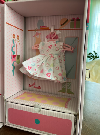 Papusa handmade Irene set, colectia Boutique - 22cm3