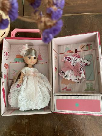 Papusa handmade Luci, set colectia Boutique - 22cm2
