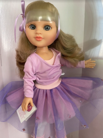 Papusa Sara balerina handmade, colectia Boutique - 43 cm1