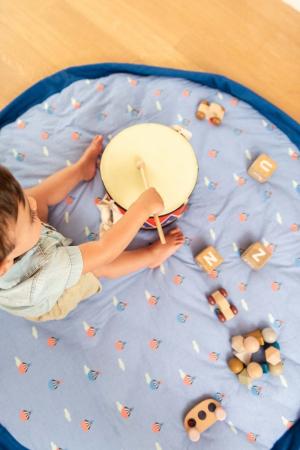Saltea bebe 3 in 1 Play&Go  bumbac 100% imprimeu vesel [0]