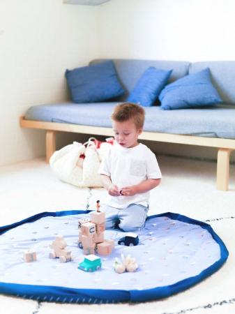 Saltea bebe 3 in 1 Play&Go  bumbac 100% imprimeu vesel [7]