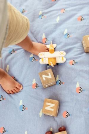 Saltea bebe 3 in 1 Play&Go  bumbac 100% imprimeu vesel [8]
