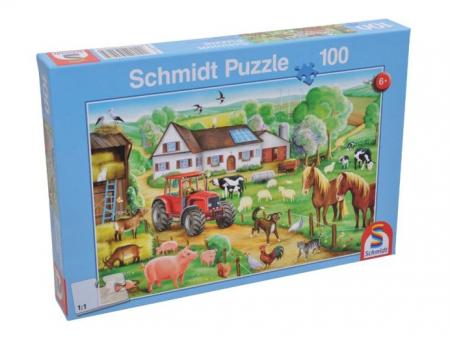 Puzzle Happy Farm Schmidt - 36,1 x 24,3 cm1