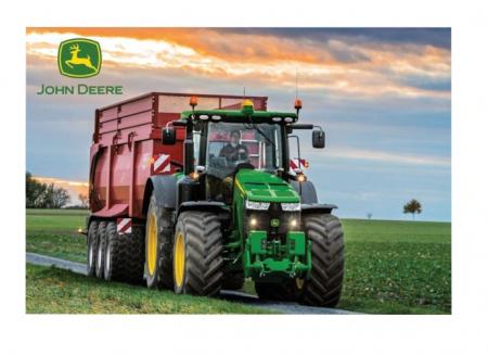 Puzzle tractor John Deere 83707R + Jucarie tractor cadou - 36,10 x 24,3 cm1