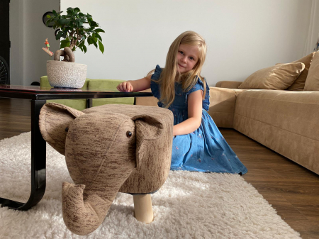 Taburet copil Elefant3