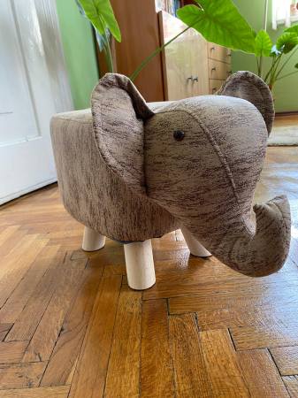 Taburet copil Elefant5