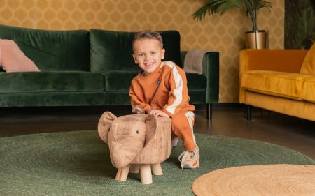 Taburet copil Elefant1