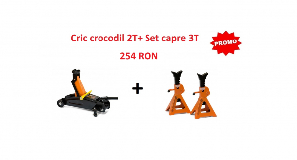 Cric crocodil 2T + Set capre 3T 0