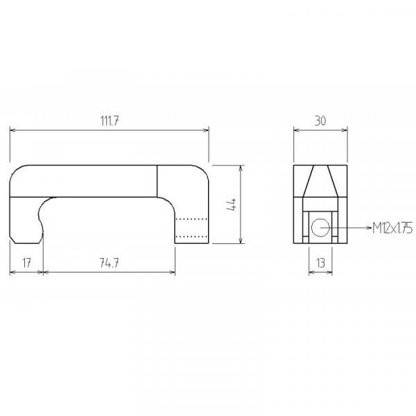 Gheara de schimb pentru extractor injectoare 1