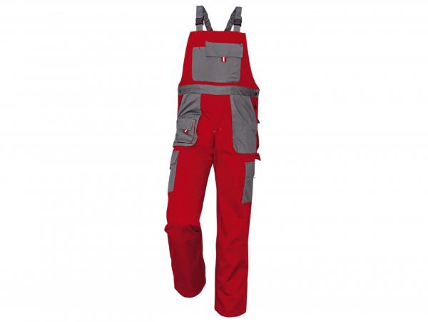 Pantaloni de lucru rosu/gri 0