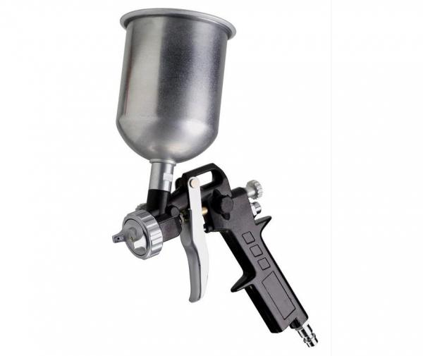 Pistol de vopsit cu rezervorul sus 0