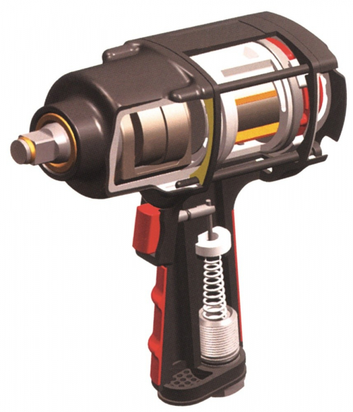 Pistol pneumatic de impact Twin Hammer, Yato, 1/2 1356Nm 1