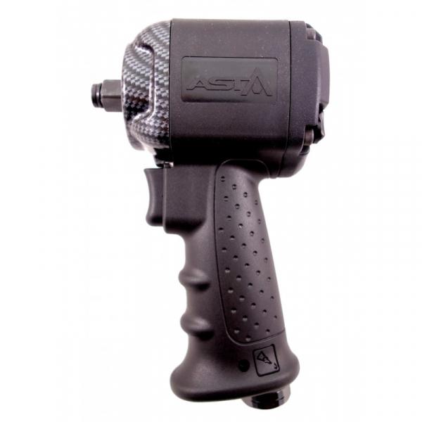 Pachet pistol pneumatic cu cap scurt 850Nm + Set tubulare impact lungi 10 piese 1/2 2