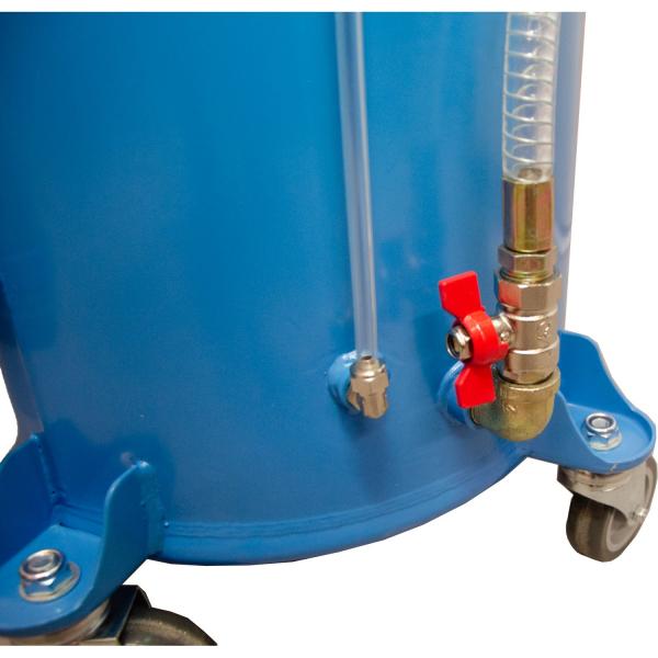 Recuperator de ulei pneumatic cu aspiratie 3