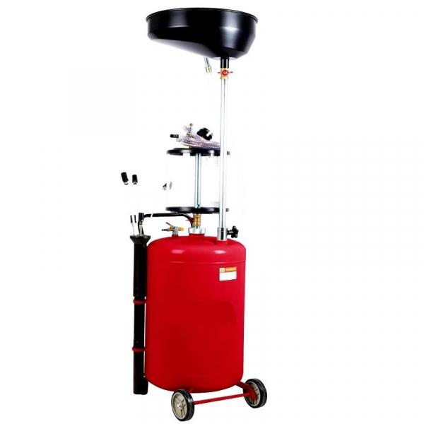 Recuperator de ulei pneumatic cu aspirator 90L 0