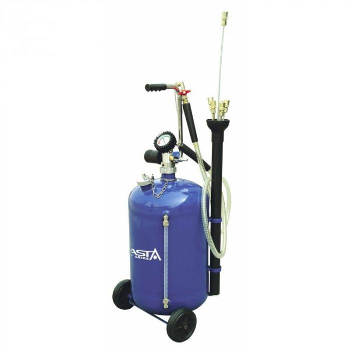 Recuperator ulei uzat pneumatic cu aspiratie 30L [0]