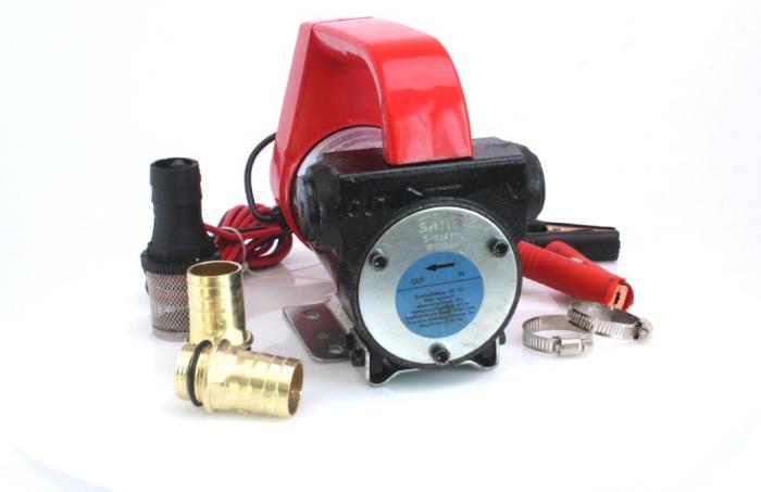 Pompa electrica transfer lichide 40L/min 12V 155W [1]
