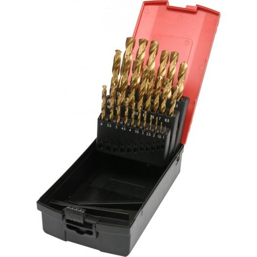 Set burghie titan 1-13mm 25buc 0