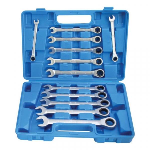 Set chei combinate cu clichet 8-19mm 12 piese 0